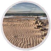Bealtic Beach Round Beach Towel