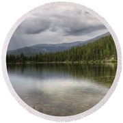 Bear Lake Round Beach Towel