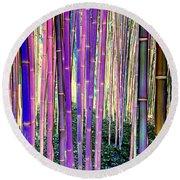 Beautiful Bamboo Round Beach Towel