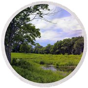Beautiful Bethel Round Beach Towel