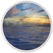 Beautiful Moments Round Beach Towel