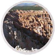 Cedar Breaks - Beautiful Nature Round Beach Towel