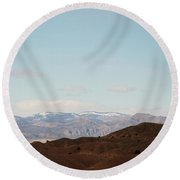 Beautiful New Mexico Round Beach Towel