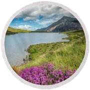 Beautiful Wales Round Beach Towel
