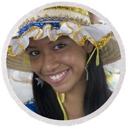 Beautiful Women Of Brazil 11 Round Beach Towel