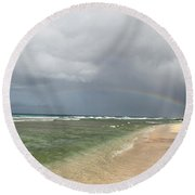 Beauty After The Rain Round Beach Towel