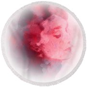 Beauty Expression Round Beach Towel