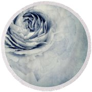 Beauty In Blue Round Beach Towel
