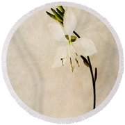 Beauty Round Beach Towel