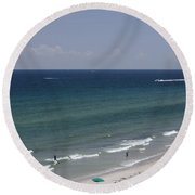 Beauty Of The East Round Beach Towel
