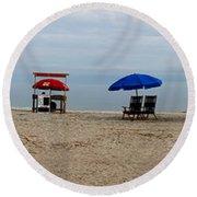 Beach Chairs Panorama Hilton Head  Round Beach Towel