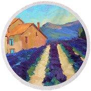 Bedoin - Provence Lavender Round Beach Towel