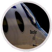 Beechjet 400 Round Beach Towel