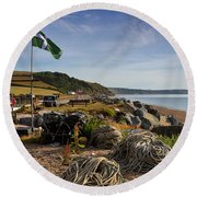 Beesands Round Beach Towel