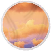 Before The Storm Clouds Stratocumulus 11 Round Beach Towel