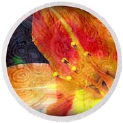 Beguile Round Beach Towel