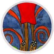 Believing I Can Round Beach Towel