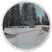 Belka Round Beach Towel