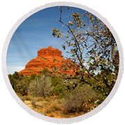 Bell Rock Vista Sedona  Az Round Beach Towel