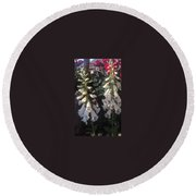 Bells Of Beauty Round Beach Towel