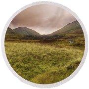 Ben Lawers - Scotland - Mountain - Landscape Round Beach Towel