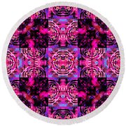 Bengal Tiger Abstract 20130205p0 Round Beach Towel