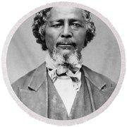 Benjamin 'pap' Singleton (1809-1892) Round Beach Towel
