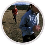 Beth Rodden And Tommy Caldwell Get Round Beach Towel