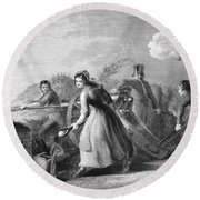 Betsy Doyle A Soldiers Wife Helping Round Beach Towel