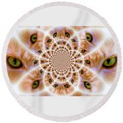 Better To See You With Round Beach Towel