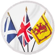 Better Together Round Beach Towel