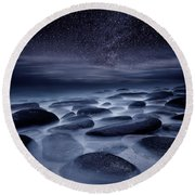 Beyond Our Imagination Round Beach Towel