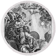 Bible History, 1752 Round Beach Towel