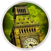 Big Ben 14 Round Beach Towel