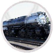 Big Boy - Union Pacific Railroad Round Beach Towel