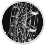 Big Eli Ferris Wheel 2 Round Beach Towel