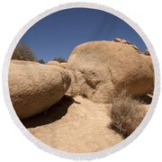 Big Rock Round Beach Towel