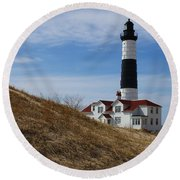 Big Sable Round Beach Towel