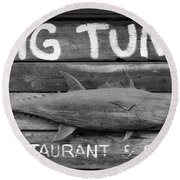 Big Tuna Round Beach Towel