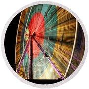 Big Wheel Edinburgh Round Beach Towel