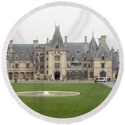 Biltmore Estate Asheville Round Beach Towel