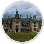Biltmore Estate Round Beach Towel