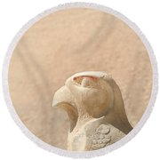 Bird Of Prey.. Round Beach Towel