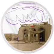 Birdcage Theater Number 1 Tombstone Arizona C.1934-2008 Round Beach Towel