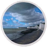 Birling Gap Beach Round Beach Towel