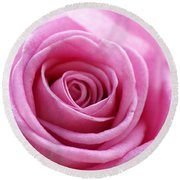 Birthday Pink Round Beach Towel