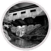 Bissell Bridge Round Beach Towel