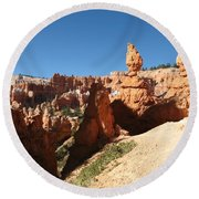 Bizarre Shapes - Bryce Canyon Round Beach Towel
