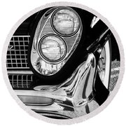Quite Continental Palm Springs Round Beach Towel