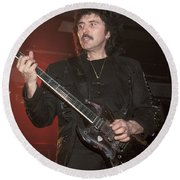 Black Sabbath - Tony Iommi Round Beach Towel